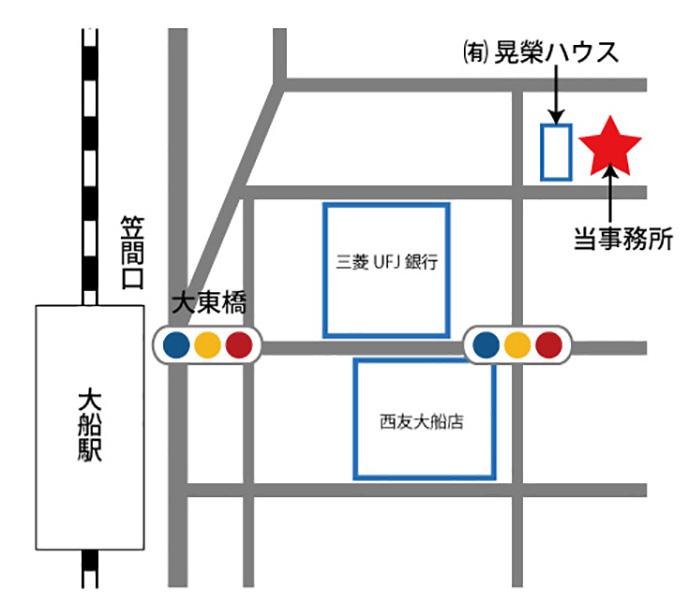 杉浦社会保険労務士事務所地図